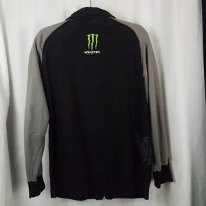 Monster Energy Jackets & Coats - Energy Drink  jacket size L black grey